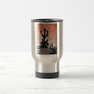 Grunge Parisan Bridge Coffee Mug