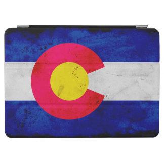 Grunge Patriotic Colorado State Flag iPad Air Cover