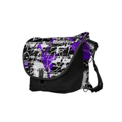 Grunge Pattern 89 Courier Bag