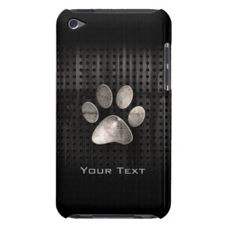 Grunge Paw Print iPod Touch Cases