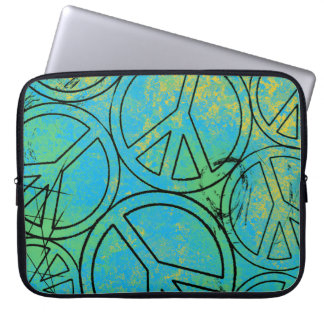 GRUNGE PEACES Laptop Sleeve