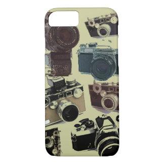 Grunge photographer photography Vintage Camera iPhone 8/7 Case