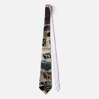 Grunge photographer photography Vintage Camera Tie