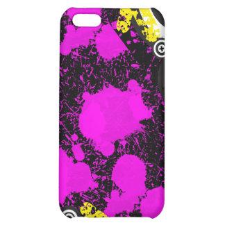 Grunge Pink Customizable  Decor Design Case For iPhone 5C