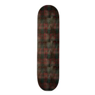 """Grunge Plaid"" Skate Board Deck 7 7/8"""