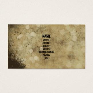 Grunge Plaster Vintage Business Card