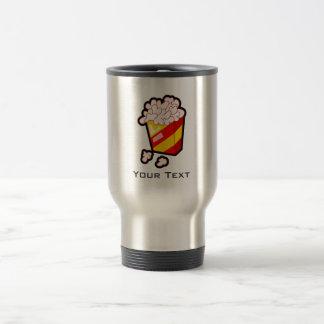 Grunge Popcorn Stainless Steel Travel Mug