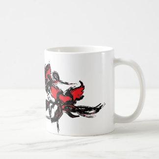 Grunge Princess Basic White Mug