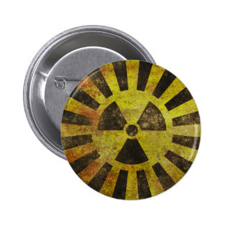 Grunge Radioactive Sign Button