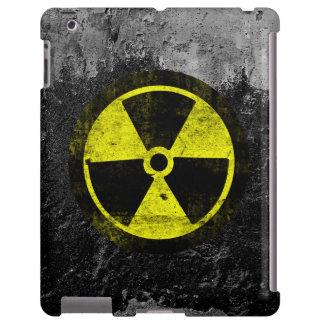 Grunge Radioactive Symbol