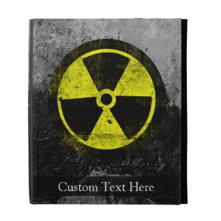 Grunge Radioactive Symbol iPad Cases