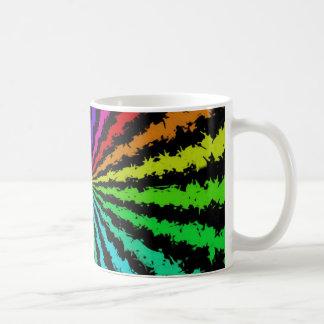 Grunge Rainbow Mugs