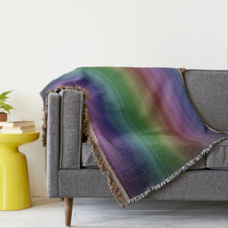 Grunge Rainbow Rock Stripe Line Pattern