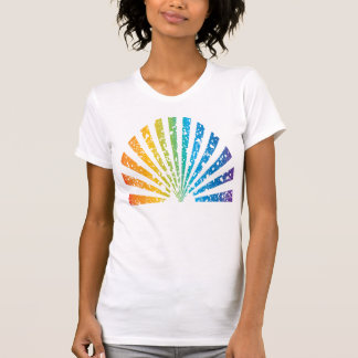 Grunge Rainbow Tee Shirt