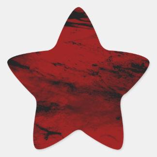 grunge RE Star Sticker