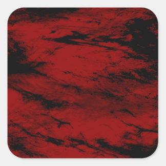 Grunge,red Sticker