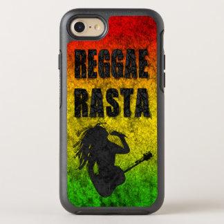 Grunge Reggae Music Rasta Rastaman Playing Guitar OtterBox Symmetry iPhone 7 Case