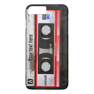 Grunge Retro Compact Audio Cassette | DJ iPhone 7 Plus Case