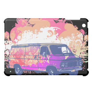 grunge retro hippie van iPad mini cover
