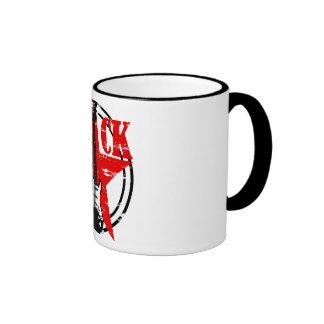 Grunge rock ringer mug
