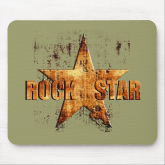 Grunge Rock star Rock Music lovers gifts Mouse Pads