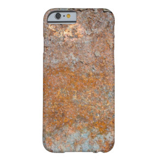 Grunge Rust Textured Background Barely There iPhone 6 Case