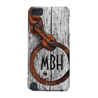 Grunge Rusty Metal Chain - Personalized! iPod Touch (5th Generation) Case