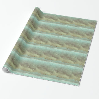 Grunge sea shore ripples tiled wrapping paper