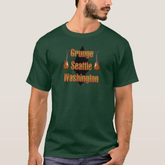 Grunge Seattle Washington T-Shirt