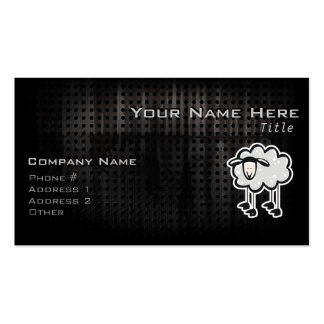 Grunge Sheep Double-Sided Standard Business Cards (Pack Of 100)