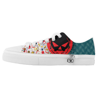 grunge shoes printed shoes