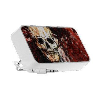 Grunge Skull Speaker