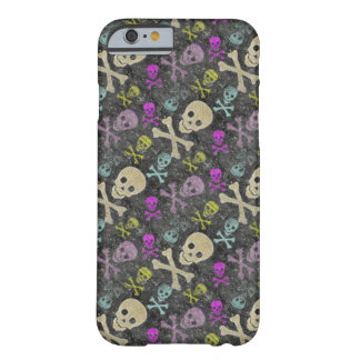 Grunge Skulls iPhone 6 case/cover Barely There iPhone 6 Case