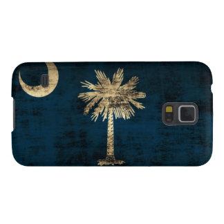 Grunge South Carolina Flag Galaxy S5 Cover