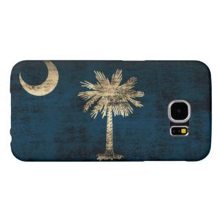 Grunge South Carolina Flag Samsung Galaxy S6 Cases
