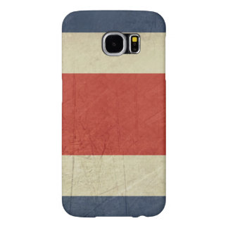 Grunge sovereign state flag of Costa Rica Samsung Galaxy S6 Cases