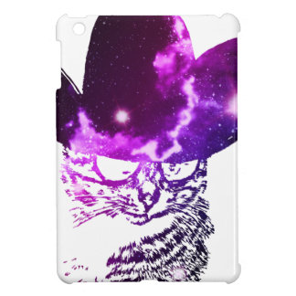 Grunge Space cat 2 iPad Mini Case