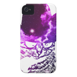 Grunge Space cat 2 iPhone 4 Covers