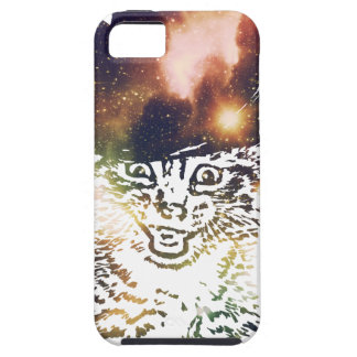 Grunge Space cat 3 Case For The iPhone 5