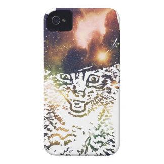 Grunge Space cat 3 Case-Mate iPhone 4 Cases