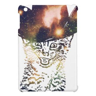Grunge Space cat 3 iPad Mini Covers