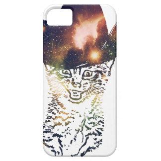 Grunge Space cat 3 iPhone 5 Case