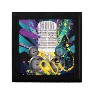 Grunge Speaker and Microphone3 Gift Box