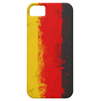 Grunge Splatter Painted Flag of Germany iPhone 5 Cover