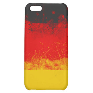 Grunge Splatter Painted Flag of Germany iPhone 5C Covers