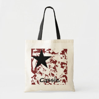 Grunge Star Back To School Bag