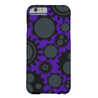 Grunge Steampunk Gears Barely There iPhone 6 Case