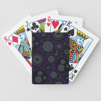 Grunge Steampunk Gears Bicycle Playing Cards