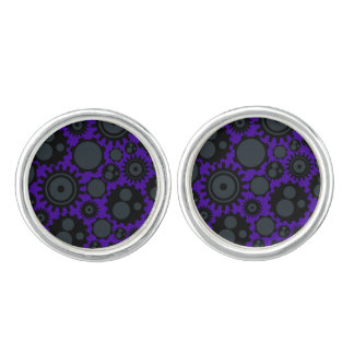 Grunge Steampunk Gears Cuff Links