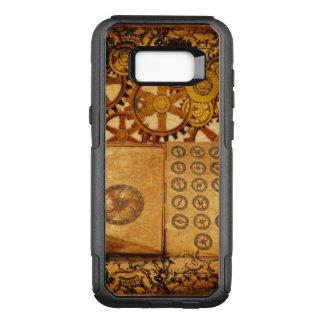 Grunge Steampunk Gears OtterBox Commuter Samsung Galaxy S8+ Case